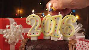 new year chocolate happy new 2016 year candle light with chocolate cake and gift
