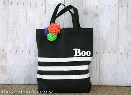 handmade halloween treat bags simple halloween tote