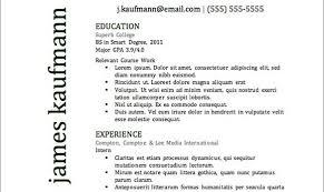 Best Resume Templates 2014 by Download The Best Resumes Haadyaooverbayresort Com
