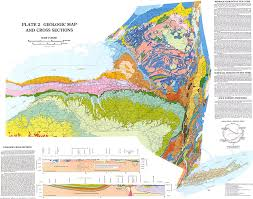 Map New York State New York State Geologic Map New York Map