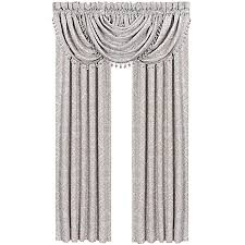 Bed Bath And Beyond Window Valances J Queen New York Colette Window Panel Pair And Valance In Blue