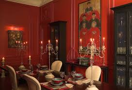 Formal Dining Rooms Elegant Decorating Ideas by Red And Gold Dining Room Elegant Red U0026 Gold Formal Dining Rooms