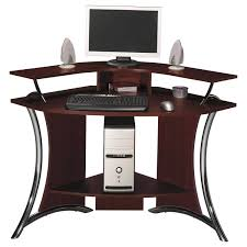 Cherry Home Decor Contemporary Computer Desk And Black Wooden With Desks For Home