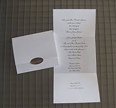 seal and send wedding invitations blank white card stock seal and send perforated self