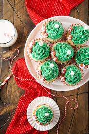 christmas tree strawberry cupcakes christmas lights decoration
