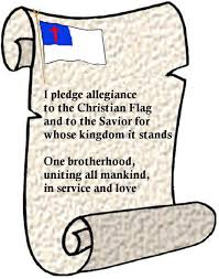 the pledge of allegiance to the christian flag