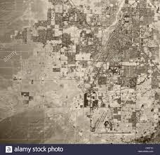 Map Of Las Vegas Nv Historical Aerial Map View Las Vegas Nevada 1973 Stock Photo