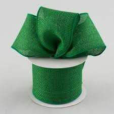 emerald green ribbon 2 5 royal faux burlap ribbon emerald green 10 yards rg121206