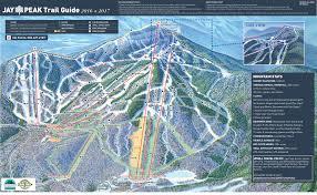 World Map Winter by Trail Map Jay Peak Resort