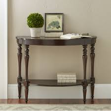 newport demilune console table demilune oval oak console table