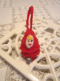 knitted ornaments knitting