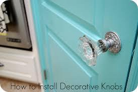 How to Install Decorative Doorknobs
