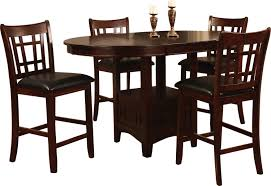 Dalton  Piece Chocolate CounterHeight Dining Package The Brick - Countertop dining room sets