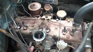 Old Ford Truck Engines - 1953 dodge 218 flathead i6 engine running youtube