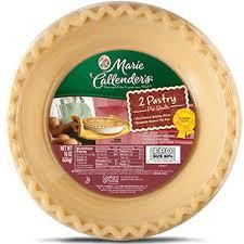 Blind Baking Frozen Pie Crust Pastry Shells Marie Callender U0027s
