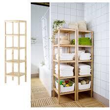 Ikea Esszimmer Anrichte Badregale Holz Hausdesign Ikea Badregal Mobel Wohnen 77309 Haus