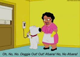 Family Guy Cleaning Lady Meme - howardtheduckthe1986filmnotthecomicbook on imgur