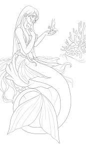268 best coloring pages sea mermaid etc images on pinterest
