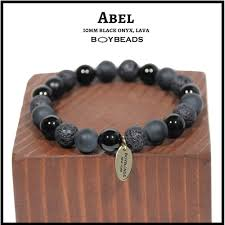 mens bracelet with stones images Boybeads custom natural stone bead bracelets necklaces for men PNG