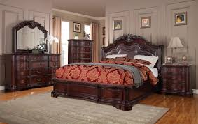 King Size Bed In Small Bedroom Ideas King Size Bedroom Sets King Size 5pc Carson 1394 Bedroom Set