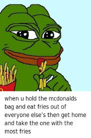 Make Your Own Fry Meme - french fries memes