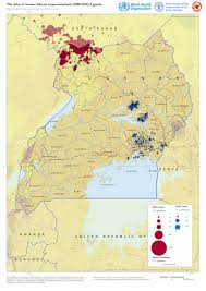Map Of Uganda Africa by Who Mapping The Distribution Of Human African Trypanosomiasis
