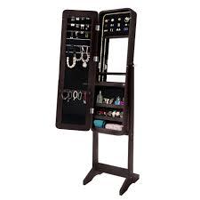 standing mirror jewelry cabinet full length mirror jewellery cabinet graysonline