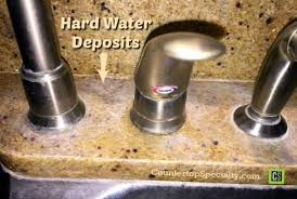 cleaning kitchen faucet cleaning water stains on marble and granite water stains