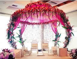 Mandap Decorations Unique Wedding Mandap Decorations For An Enticing Wedding Decor
