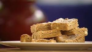 peanut butter white chocolate blondies good food channel