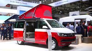 2017 volkswagen california xxl weltpremiere caravan salon 2017
