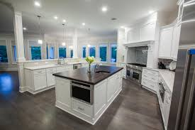 custom kitchen cabinet manufacturers all white custom kitchen features bright modern decor by markraft