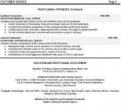 Call Center Job Resume by Sample Call Center Management Resume Softballconcentrate Gq