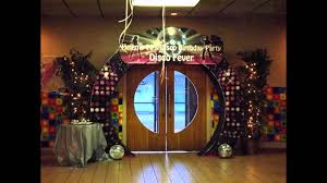 Disco Party Centerpieces Ideas by Fascinating Disco Party Decorating Ideas Youtube