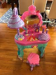 The Little Mermaid Vanity Top Disney Princess Magical Talking Vanity Disney Princess Ariel