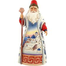 greek santa jim shore figure jim shore collectibles