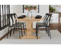 primitive dining room furniture kindred trestle dining room magnolia home