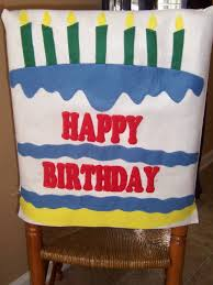 birthday chair cover happy birthday chair cover home design ideas