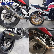 cbr 600 bike modified motorcycle akrapovic exhaust pipe muffler dirt bike parts