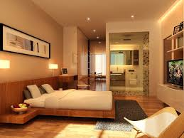 Warm Bedroom Ideas Inspiration For Mid Sized Contemporary Guest Bedroom Remodel In
