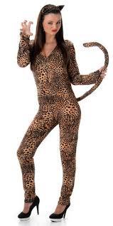 snow leopard cat suit ladies fancy dress animal jumpsuit halloween