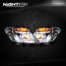 nissan headlights nighteye nissan patrol headlights 2014 2015 tourle led headlight