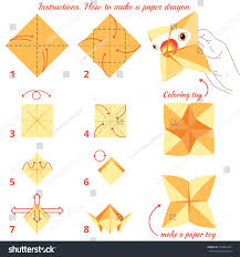 instructions how to make paper bird origami tutorial step by step