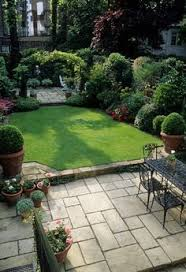 Garden Patio Design Ideas Pictures Garden And Patio Narrow Side Yard House Design With Simple