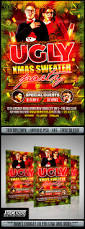 ugly christmas sweater party flyer by matteogianfreda graphicriver
