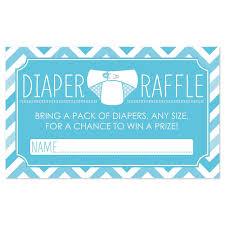 baby shower raffle ideas chevron blue raffle baby shower 18 ct