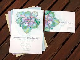 succulent wedding invitations succulent wedding invitations broprahshow