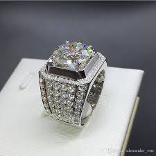 diamond men rings images 2018 90 off luxury men jewelry really 925 sterling silver cz jpg