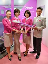 pink cabin crew uniforms unveiled by peach japan u0027s first