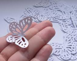 Wedding Decorations Butterflies White Butterfly Etsy